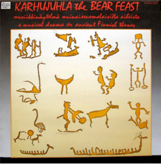 KOYHAT RITARIT & PRIMO - KARHUJUHLA THE BEAR FEAST, LP, 1986, FINLAND