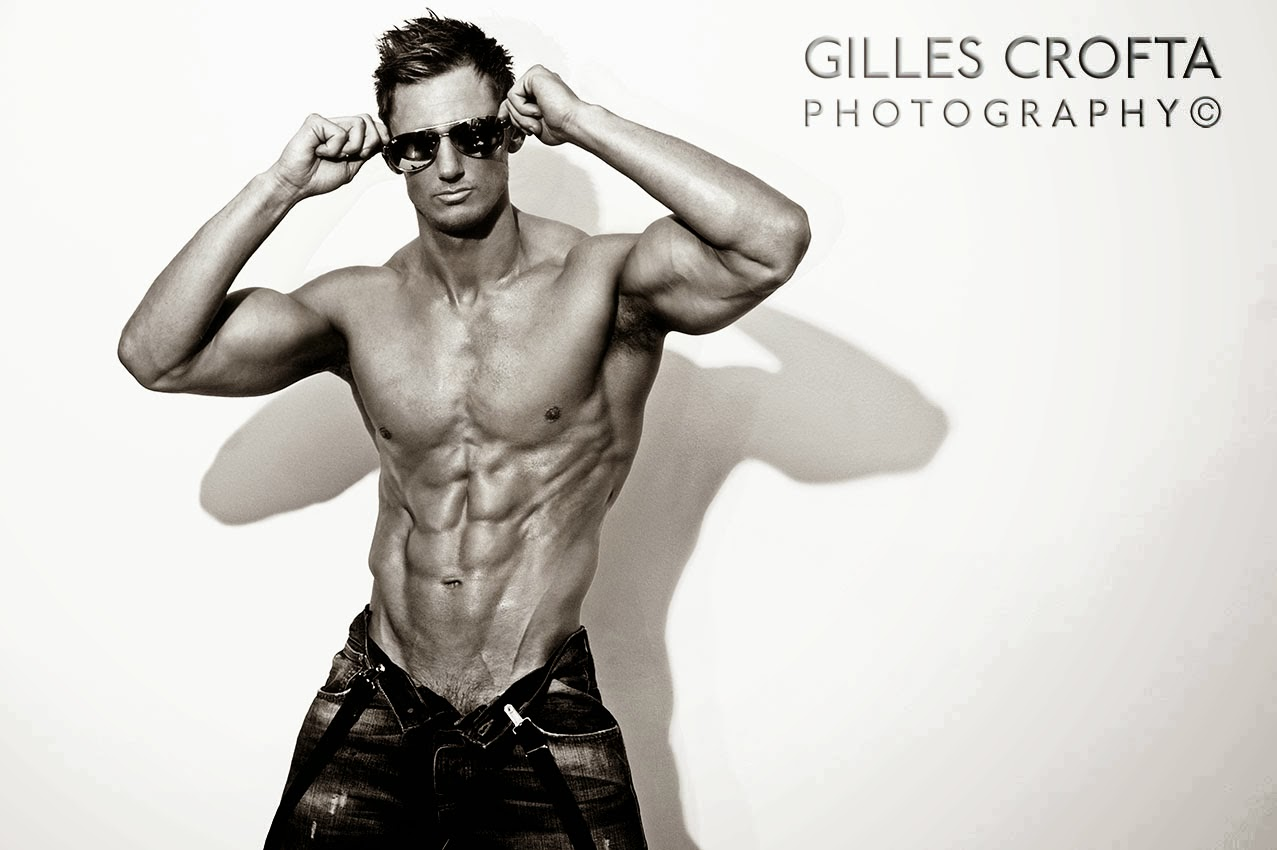 Best Fitness Model Ripped Six Pack Dave Cunningham