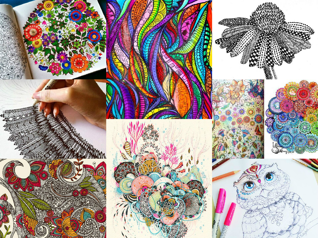 Colour Your World Happy Mindfulness Colouring Books