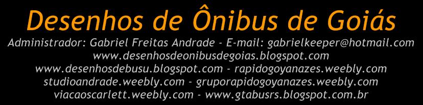 Desenhos de Ônibus de Goiás