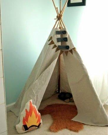 DIY campfire
