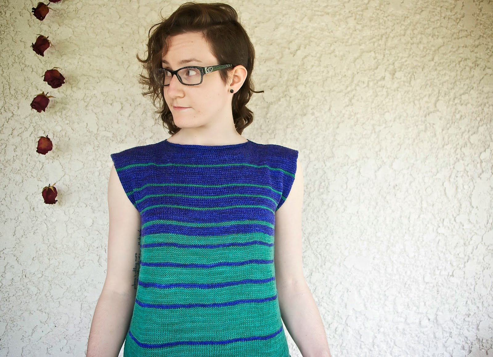 Vasa pattern knit by Sunflowerknit