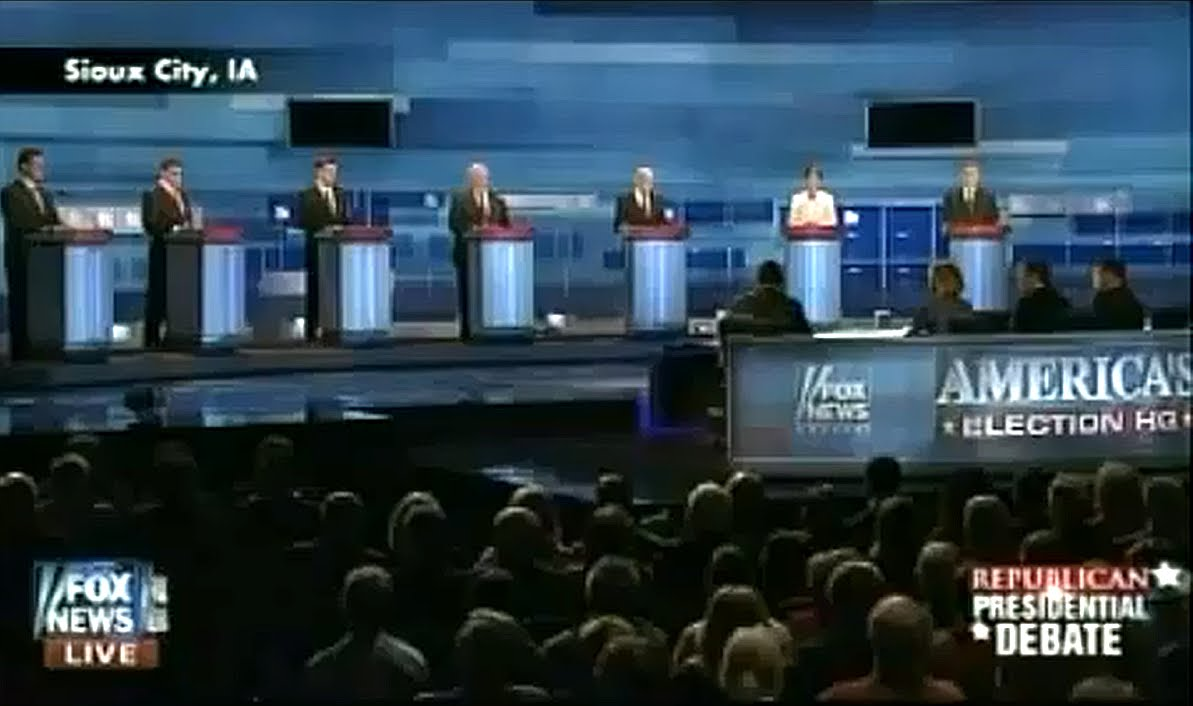 Iowa Republican (GOP) Debate FULL VIDEO FOX NEWS 12/15/11