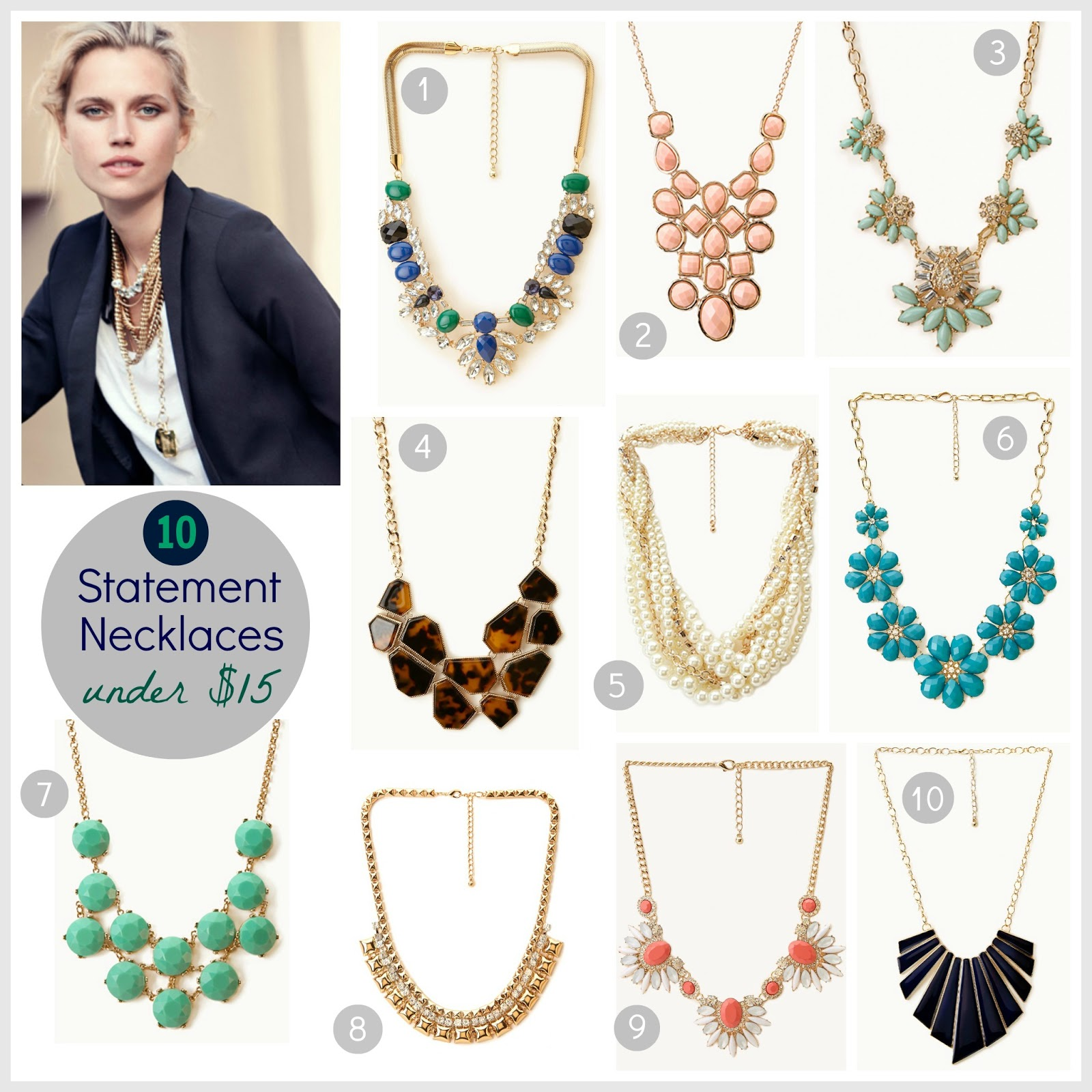 Tracy's Notebook of Style: 10 Statement Necklaces for ...