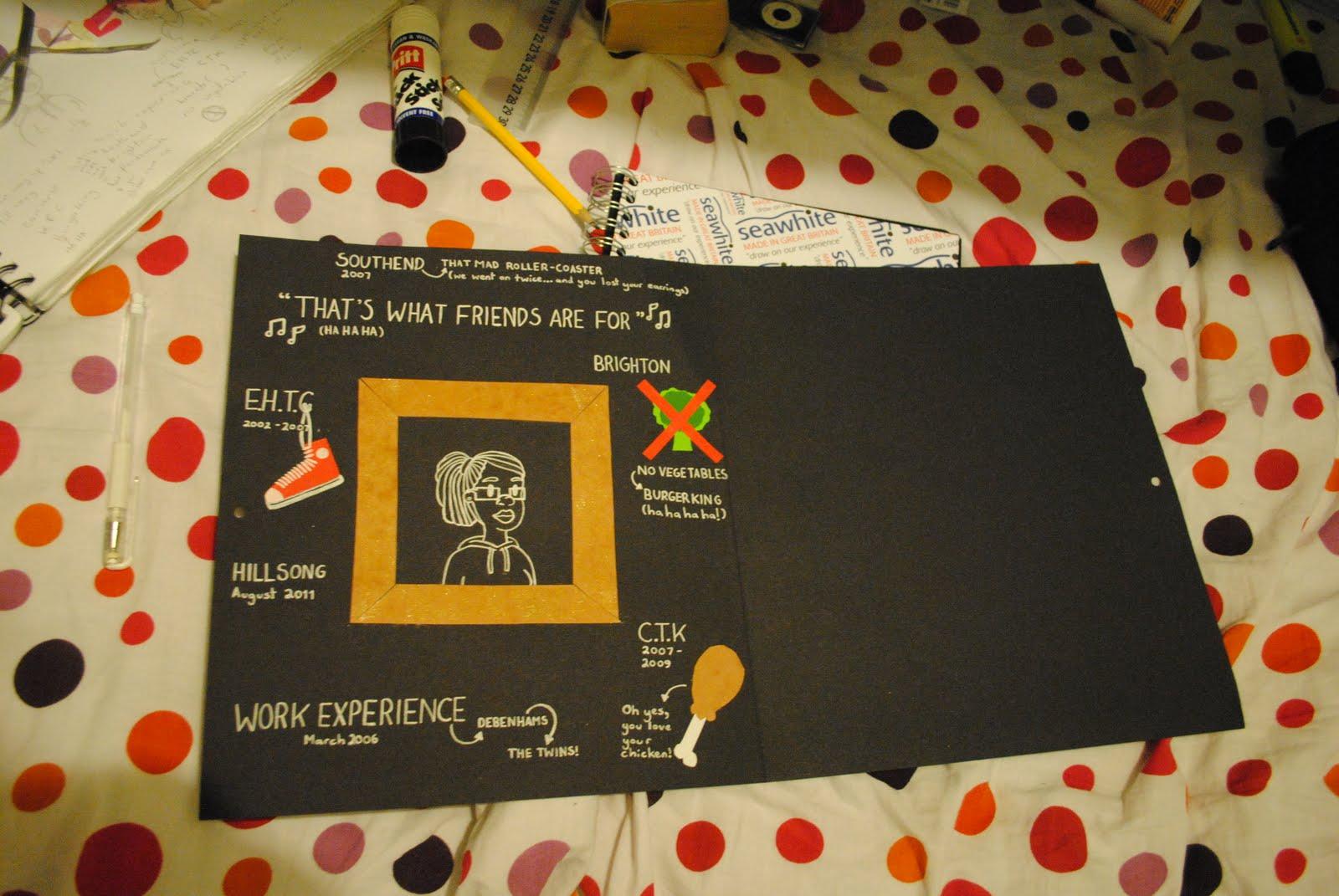 Homemade Birthday Cards For Best Friend ~ Eva s birthday card for my best friend the making of