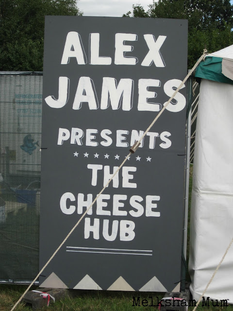 Alex James' Cheese Hub The Big Feastival 2013