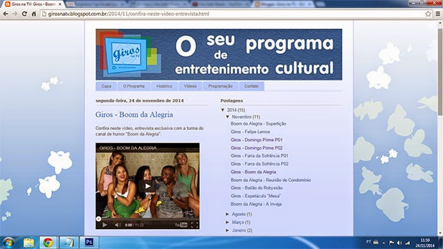 Blog Giros na TV
