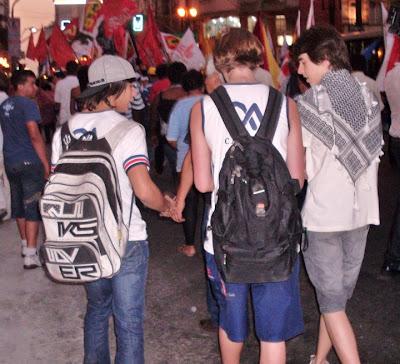 Ato histórico em São Paulo pelo Estado da Palestina Já - foto 24