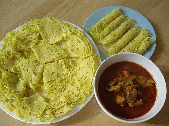 roti jala is a malay cuisine where roti means bread and jala means net ...