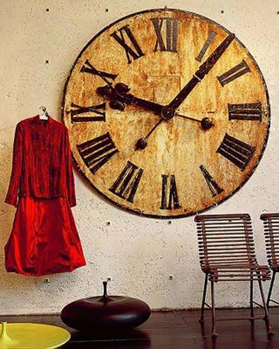 Decorar habitaciones utilizando relojes antiguos - Relojes pared antiguos ...