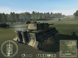 Game Tank Commander