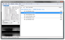 Foobar Main Interface
