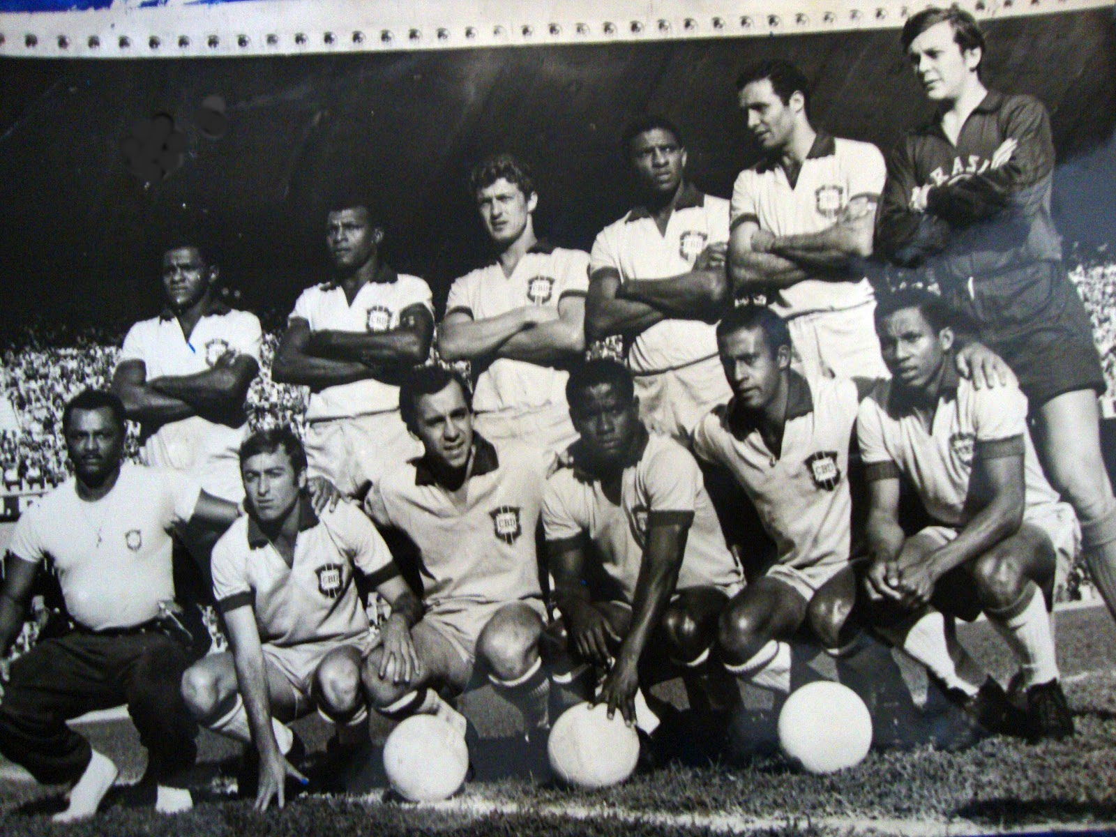 Resultado de imagem para seleçao brasil 1971
