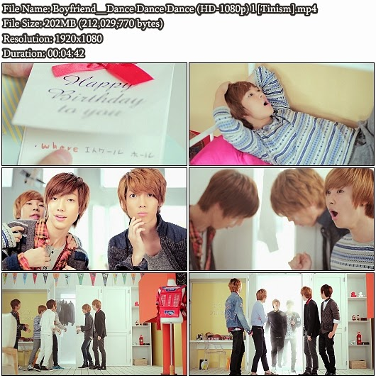 Download PV Boyfriend - Dance Dance Dance (Dance Dance Dance) (Full HD 1080p)