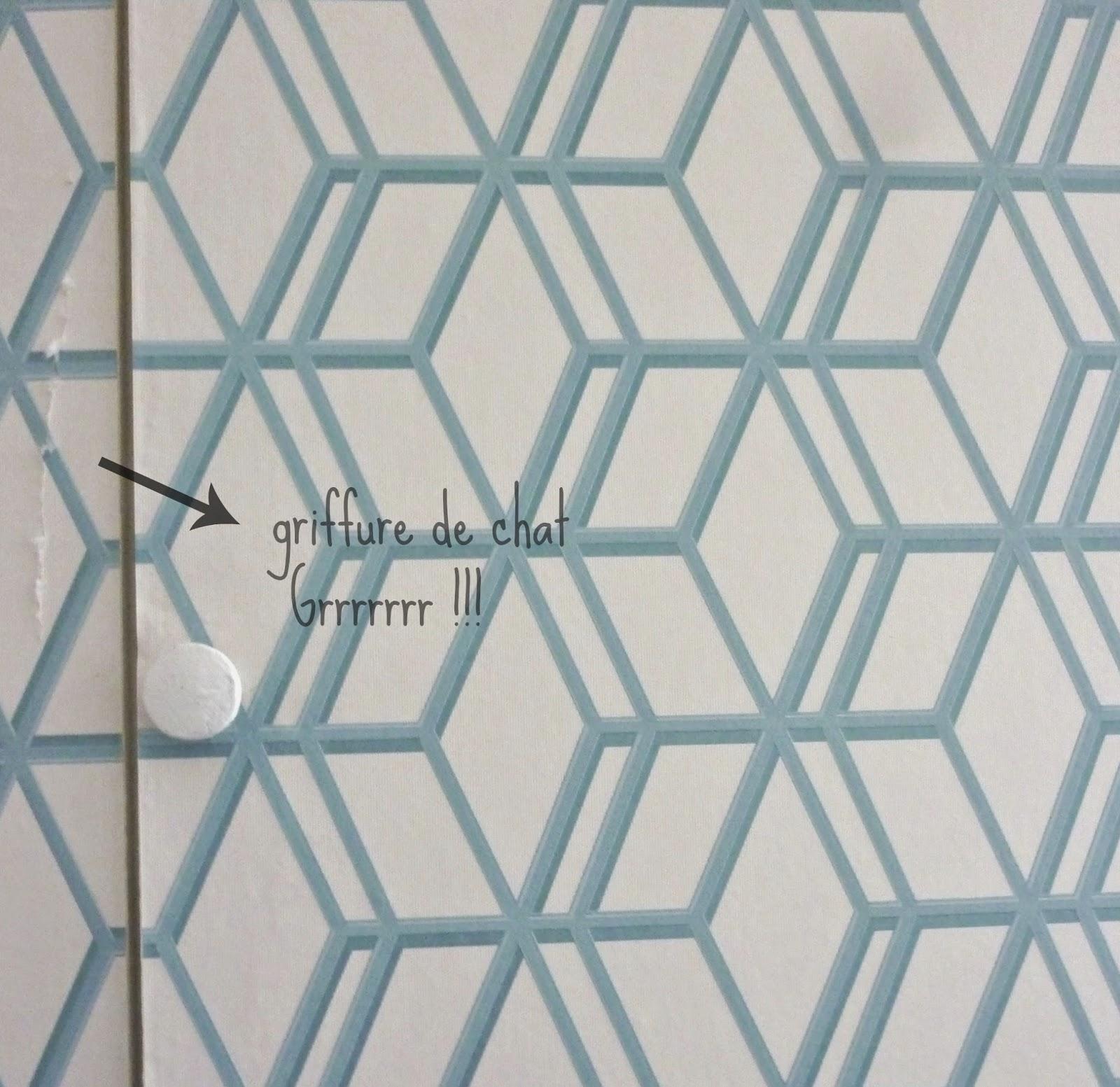 Relooker à moindre coût les portes de placard Minutefacile  - Papier Peint Porte Placard