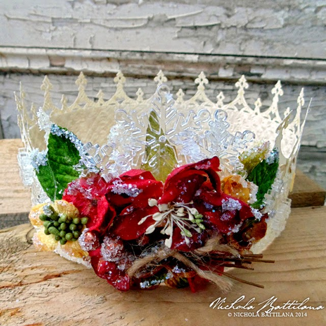 Paper crown by Nichola Battilana