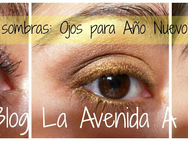 Jugando con Sombras: Ojos para Año Nuevo!!!!!!