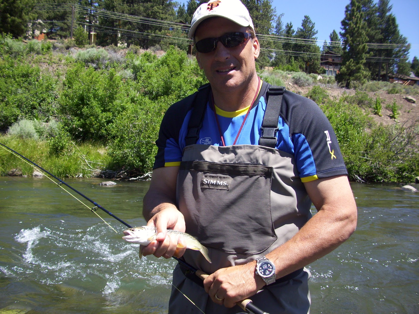 Northern sierra fly fishing july 2012 for Is the fishing good today