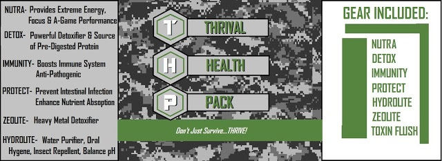 THRIVAL HEALTH PACK - PREPARE