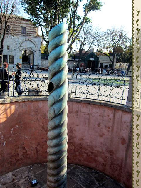 Columna Serpentina - Hipódromo Estambul