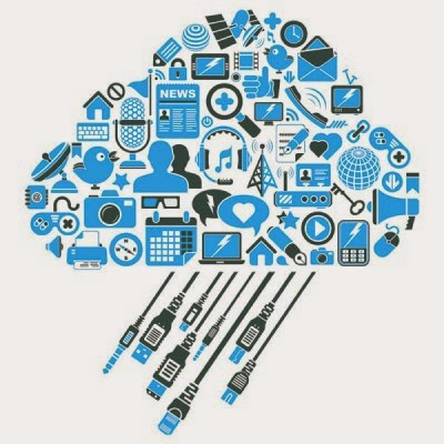 caricature of the cloud interface