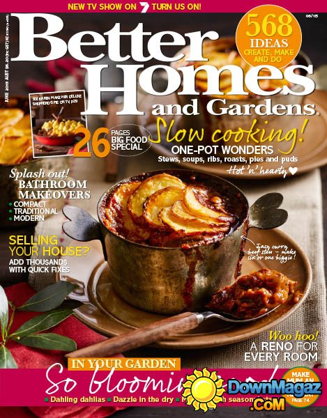 Free Better Homes Gardens Magazine SubscriptionNo Bills No