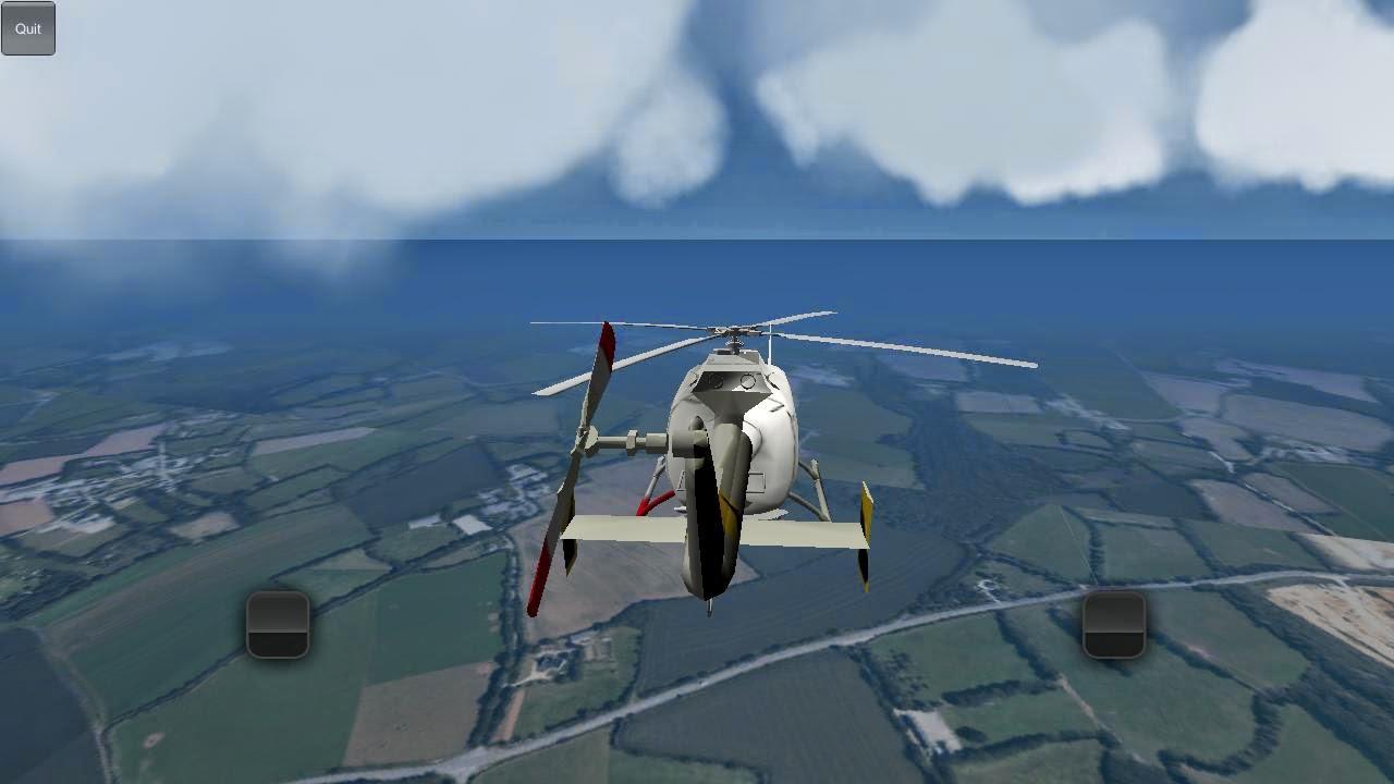 Android Helikopter 3D Uçuş Simülatörü Apk resimi 4