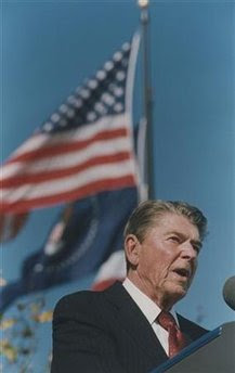 Spotlight on President Reagan