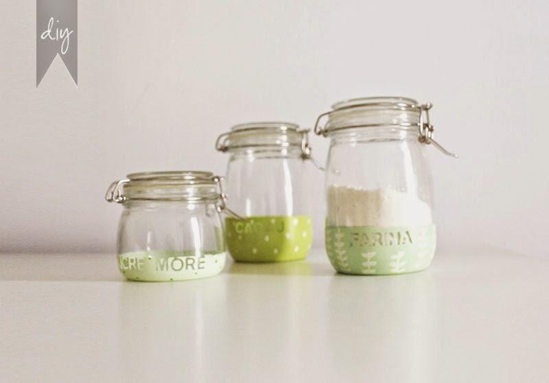 DIY: Cómo personalizar tarros de cocina