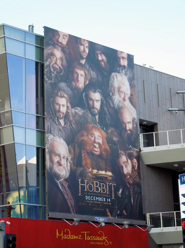 Hobbit movie billboard