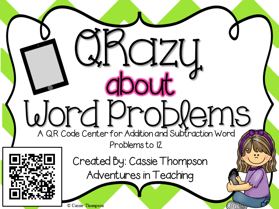 https://www.teacherspayteachers.com/Product/QR-Codes-QRazy-About-Word-Problems-Volume-1-783143