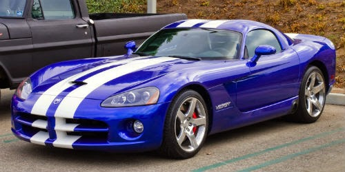 dodge viper second generation