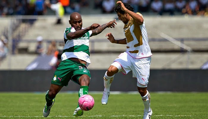 Pumas vs Santos en vivo