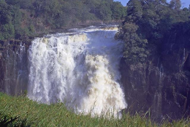Buy wall art of Victoria Falls