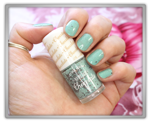 Jolse Etude House tony moly Haul Review beauty blogger Give Me Chocolate Nails 02 mint chocolate chip