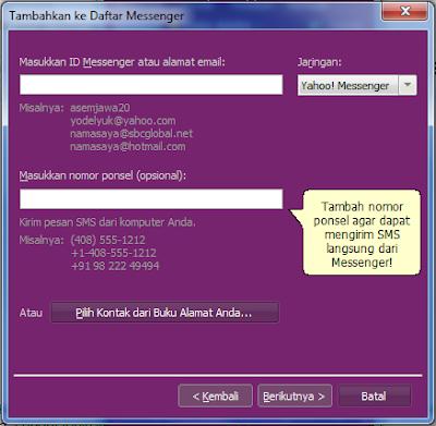 Cara Menambah Teman Chating di Yahoo Messengger (YM)
