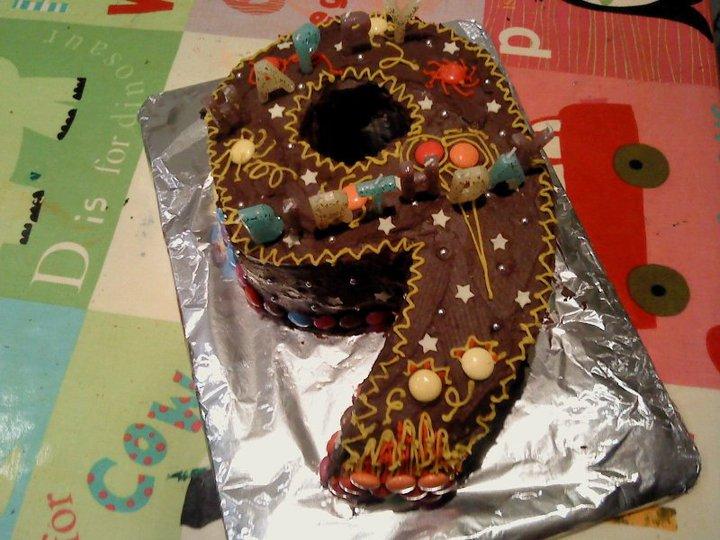 Organic Ed Birthday Cakes