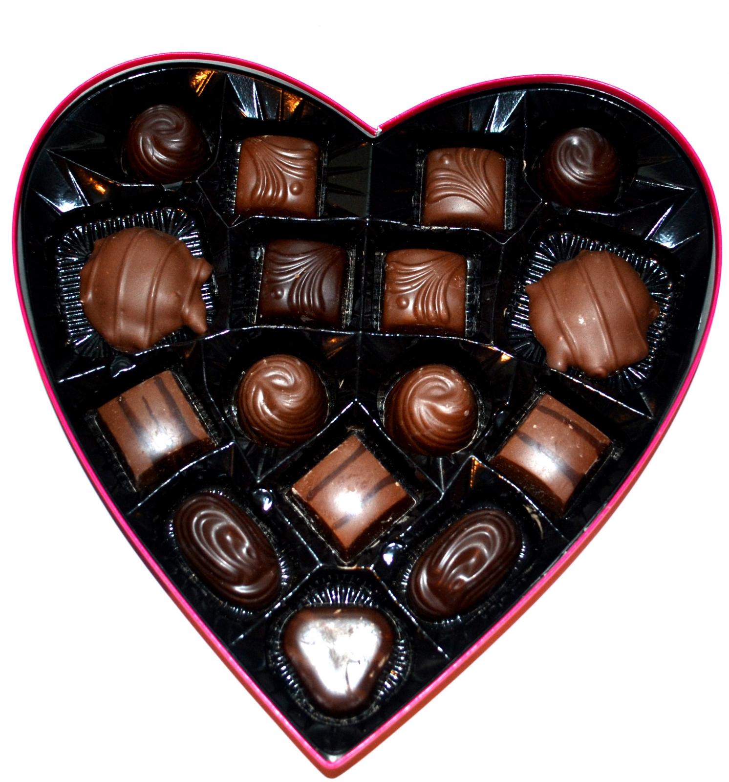 valentine day chocolate photo