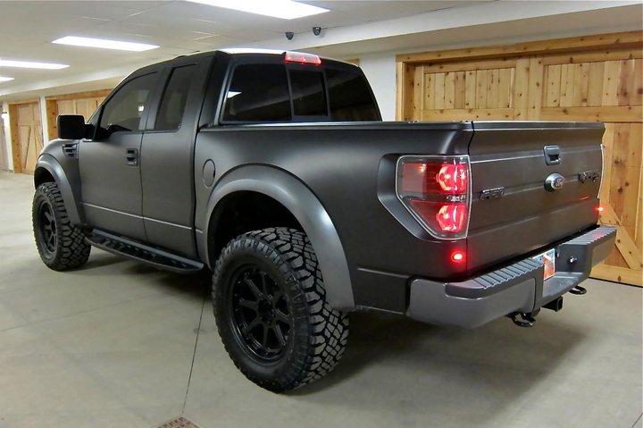 Ford SVT Raptor 2011 Matte Black - the new game of Ken ...