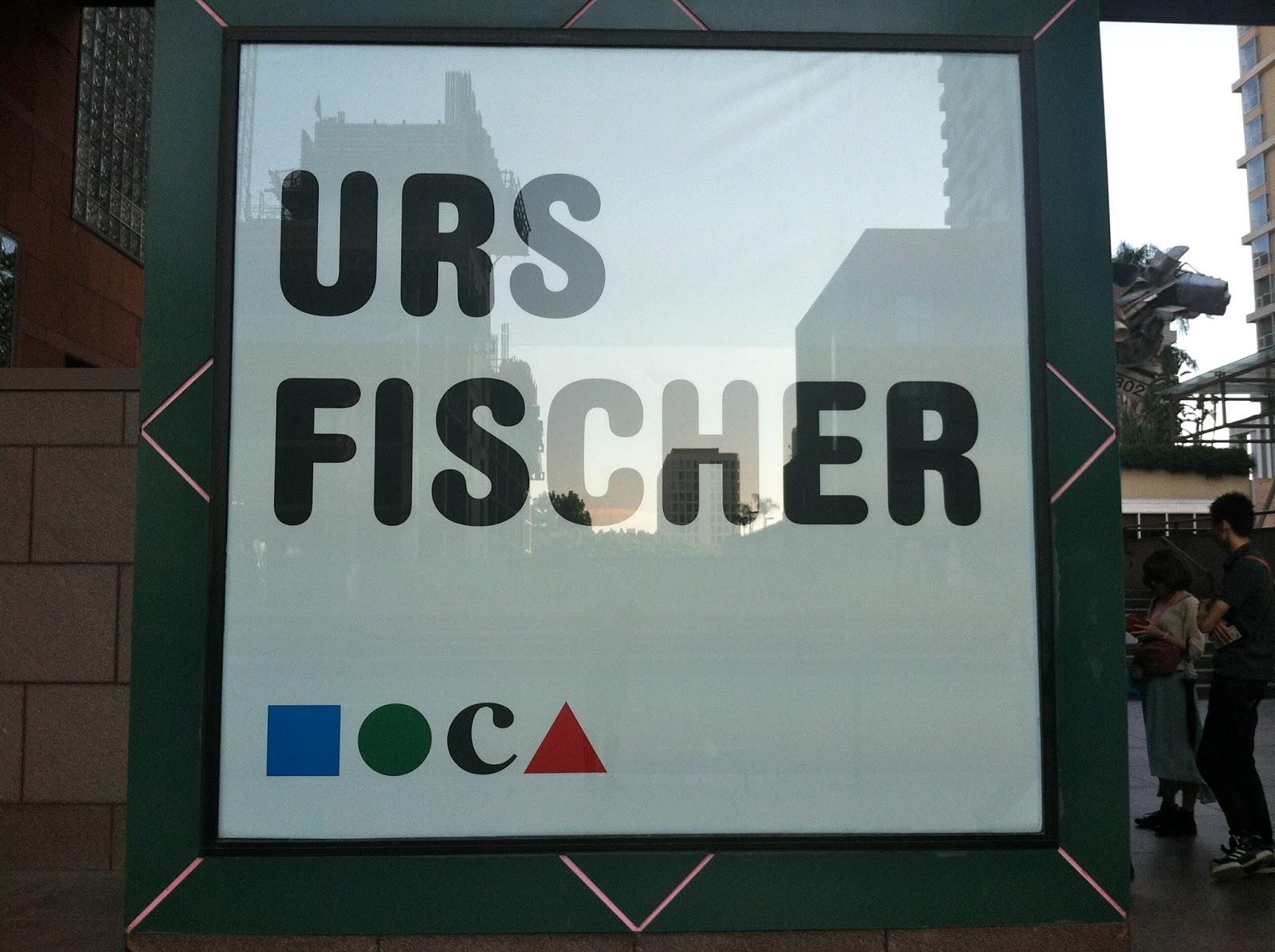 Urs Fischer MoCA
