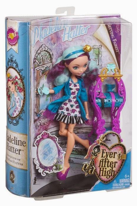 TOYS - Muñeca Madeline Hatter : Ever After High  Colección Getting Fairest // Baile de Corazones Juguete Oficial | Mattel BDB15 | A partir de 6 años