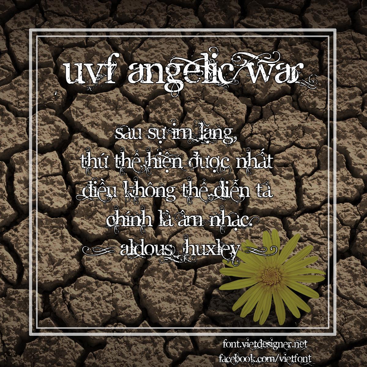 UVF Angelic War