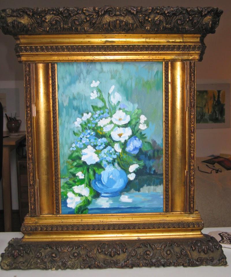 Obrazek w kwiatami
