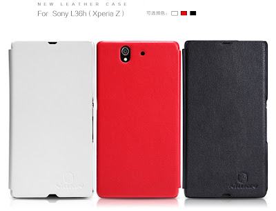 Nilkin Case Xperia Z White black red