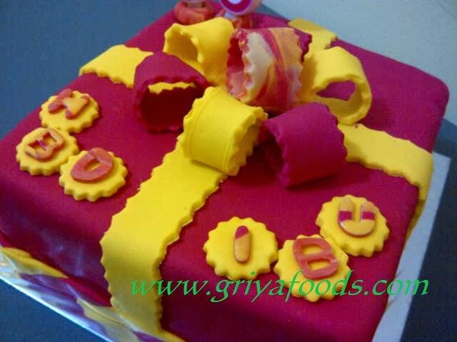 cara mudah menghias kue ulang tahun dengan bahan fondant