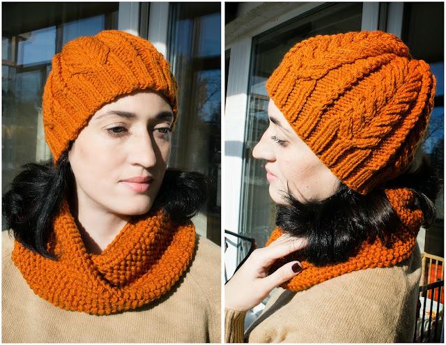 Вязание шапок с жемчужным узором