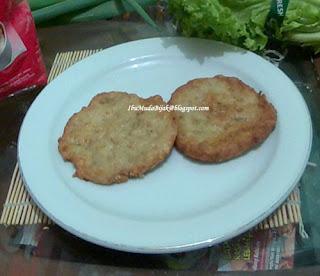 Resep Homemade Chicken Oatmeal Burger