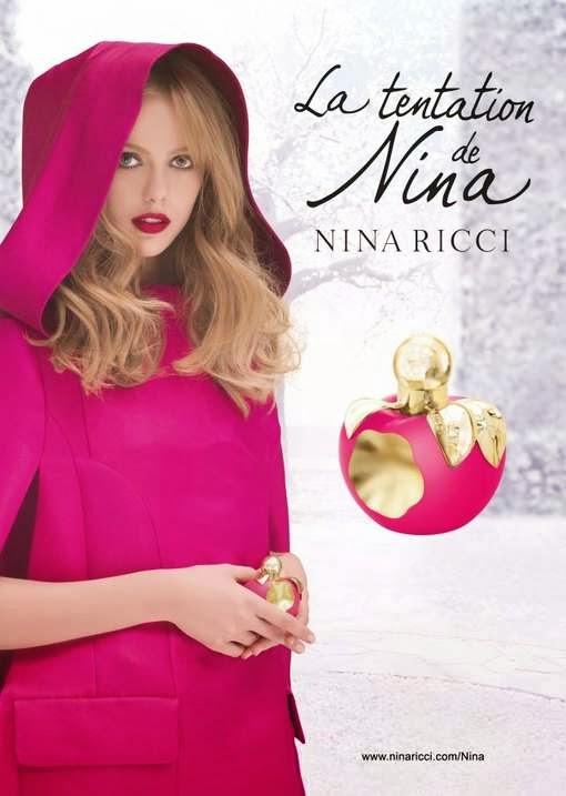 La tentation de Nina Nina Ricci Ladurée Frida Gustavsson