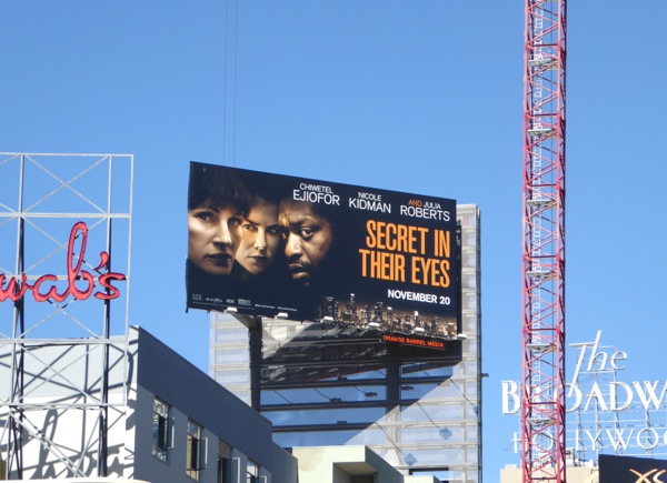 Secret in their Eyes 2015 movie billboard