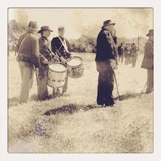 Civil War Reenactment photo by Cesare Asaro